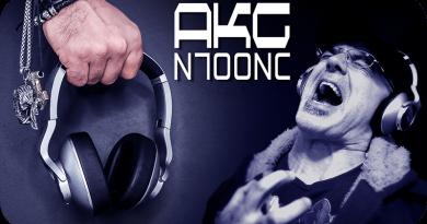 IchPackeAus AKG N700NC Kopfhörer Test