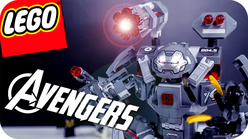 Lego Avengers War Machine Ant Man Set