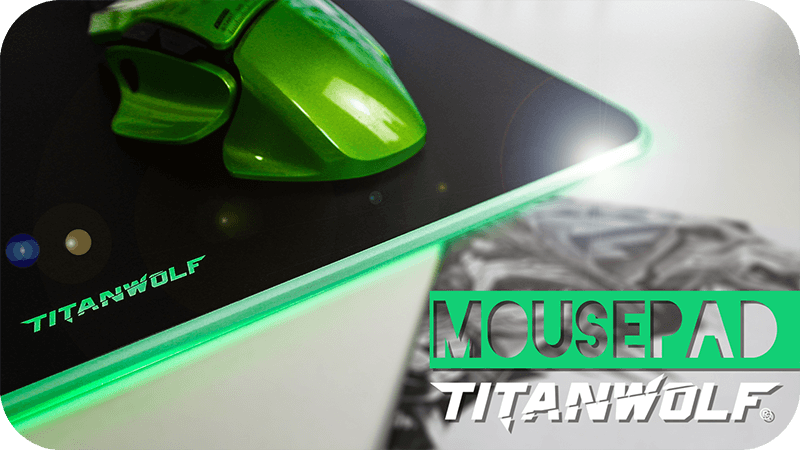 Titanwolf Gaming Mousepad
